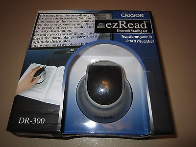 Carson ezRead - Electronic Reading Aid (Transforms your TV into a Visual Aid NEW