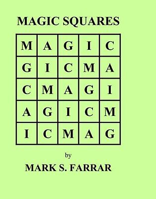 Magic Squares Mark S. Farrar BookSurge Publishing Brand BookSurge Publishing