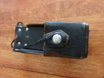 Motorola NTN8381B Leather Radio Holster Case-1505651Z02 for HT1000-XTS 3000-USED