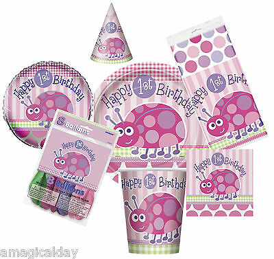 Ladybug 1st Birthday Party Tablecover | Decorations | Tableware