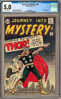 Journey Into Mystery #89 CGC 5.0 (OW)