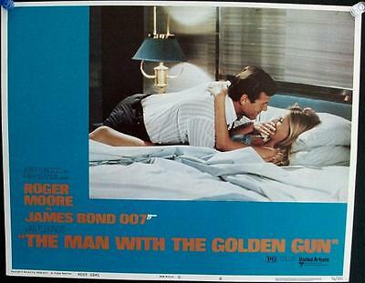 Roger Moore Man With The Golden Gun Original James Bond Us Lobby Card #6