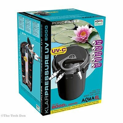 Aquael KLARPRESSURE UV (For Ponds up to 8,000 liters)