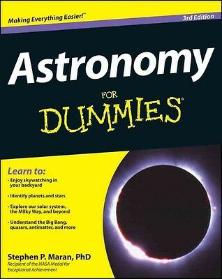 Astronomy for Dummies by Stephen P. Maran Paperback Book (English)
