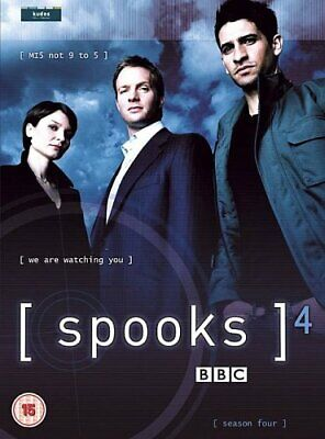 Spooks : Complete BBC Series 4 [2002] [DVD] - DVD  FEVG The Cheap Fast Free Post