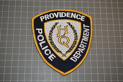 Providence Rhode Islanb Police Department HQ Patch (B17-A)