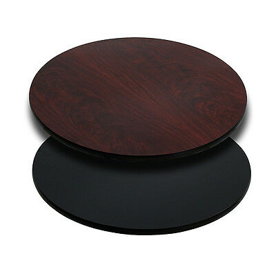 Flash Furniture 30'' Round Bar Restaurant Table Top W/ Reversible Laminate Home