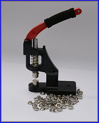 Eyelet Press for Banners with Self Piercing 12mm Die 1000 Eylets FREE