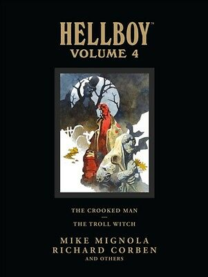 Hellboy Library Edition Volume 4: The Crooked Man and The Troll Witch (Hardcove.