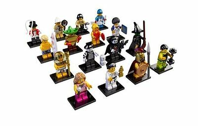 Lego 8684 Minifigures Serie 2 alle 16 komplett full Set + OVP + BPZ all