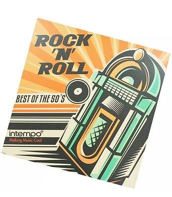 Intempo Rock N Roll: Best of the 50s **VINYL** Brand New **Free P&P**