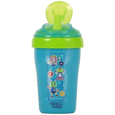 Vital Baby Toddler Straw Cup 15m+ (Blue) (2577)