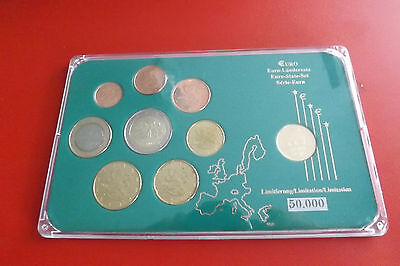 *Finnland Euro KMS  in Blister mit Medaille