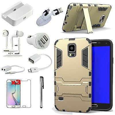 Case Cover Dock Charger Earphones OTG Cable Accessory For Samsung Galaxy Note 4