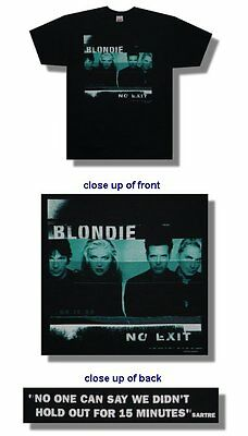 Blondie- NEW No Exit T Shirt - XLARGE  SALE FREE SHIPPING TO U.S.!