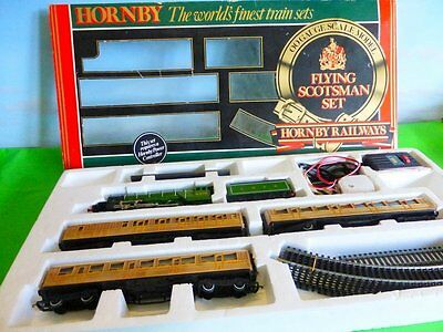 Hornby R547 Flying Scotsman Set Boxed Rare 1980's Export Version