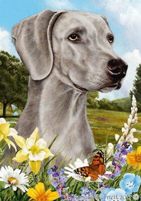 Garden Indoor/Outdoor Summer Flag - Weimaraner 180571