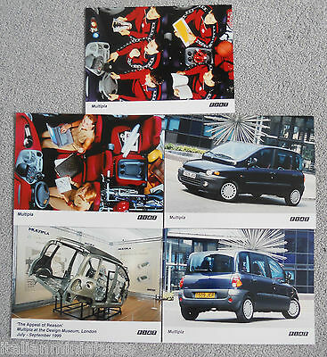 Fiat Multipla Set of 5 x  Photograph From Design Museum  Mint Condition 1999