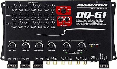 Audiocontrol Dq-61 6-Channel Factory Sound Processor With Eq And Signal Delay