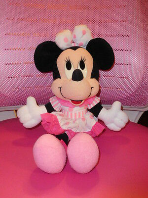 Disney's Minnie Mouse Pink & White Outfit Plush