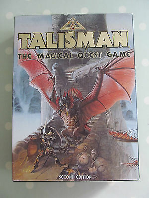 Talisman The Magical Quest Board Game By Games Workshop 2Nd Edition 1985
