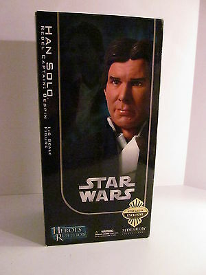 Sideshow Heros Rebellion Star Wars 1/6 Scale Bespin Han Solo with Mynock!