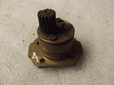 Velocette Brass Bodied  Oil Pump, Vintage, Mac, Mss Vennom  4