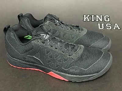 Women's Reebok CrossFit Nano 6.0 Cross Training Shoes Dark Stealth AR3400 Size 8