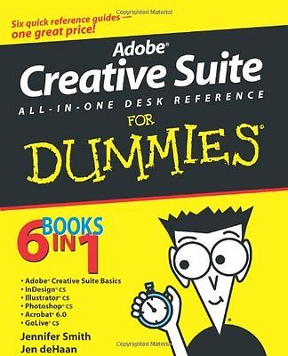 Adobe Creative Suite All-in-One Desk Reference For Dummies 1 Anglais 744 pages
