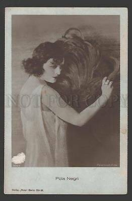 108289 POLA NEGRI Hollywood MOVIE Star ACTRESS Fan Old PHOTO