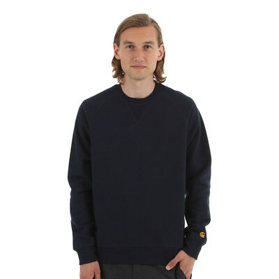 Carhartt WIP - Chase Sweater Navy Pullover Rundhals