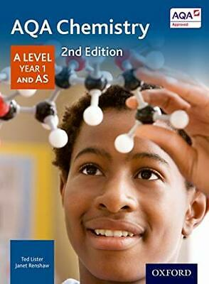 AQA Chemistry A Level Year 1 Student Book by Renshaw, Janet Book The Cheap Fast