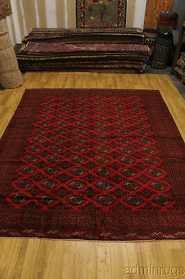 "10X12 Large Tribal Turkoman Handmade Persian Oriental Area Rug Carpet 9'9""x11'7"""