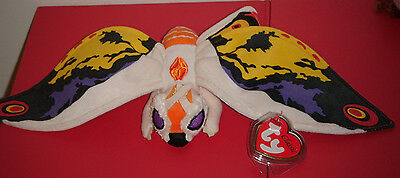Ty Classic Plush ~ MOTHRA ~ Japan Exclusive~ (From Godzilla) MINT with MINT TAGS