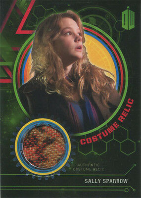 Doctor Who Extraterrestrial Encounters Costume Relic Card Sally Sparrow #133/499