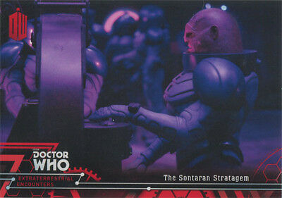 Doctor Who Extraterrestrial Encounters Red Parallel Chase Card 79 #24/25