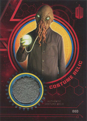 Doctor Who Extraterrestrial Encounters Costume Relic Card Ood #10/10