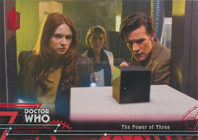 Doctor Who Extraterrestrial Encounters Red Parallel Chase Card 88 #22/25