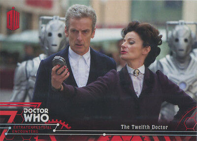 Doctor Who Extraterrestrial Encounters Red Parallel Chase Card 13 #01/25