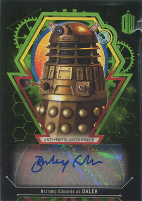 Doctor Who Extraterrestrial Encounters Autograph Card Barnaby Edwards #42/50