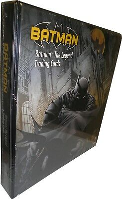 Batman The Legend Trading Card Binder with Exclusive Promo Card