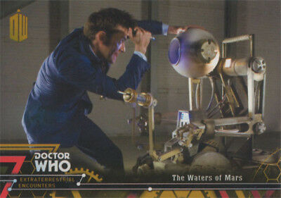 Doctor Who Extraterrestrial Encounters Gold Parallel Chase Card 83 #1/1