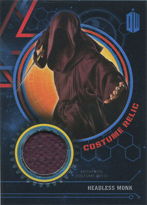 Doctor Who Extraterrestrial Encounters Costume Relic Card Headless Monk #37/99
