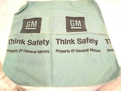 30-General Motors Shop Rags-Think Safety 16 x 16