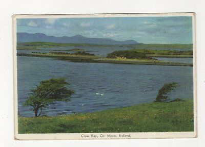 Clew Bay Co Mayo 1965 Ireland Postcard 910a
