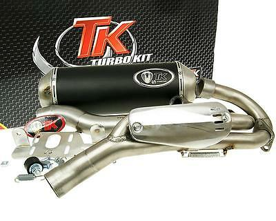 Exhaust Sport With E Characters Turbo Kit Quad ATV for Yamaha YFM 700 Raptor