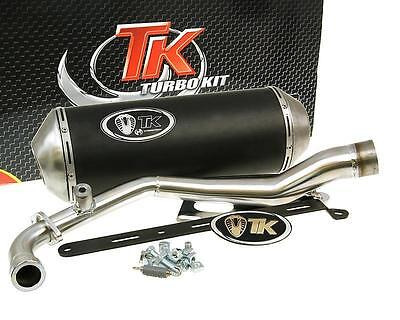Exhaust Sport with E Characters Turbo Kit GMax 4T for Yamaha BWS 125 Zuma