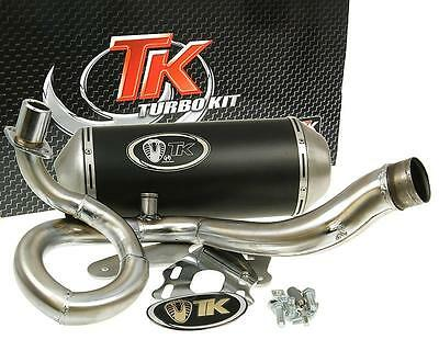 Exhaust Sport With E Characters Turbo Kit GMax 4T For Vespa S 125 150 4T Leader