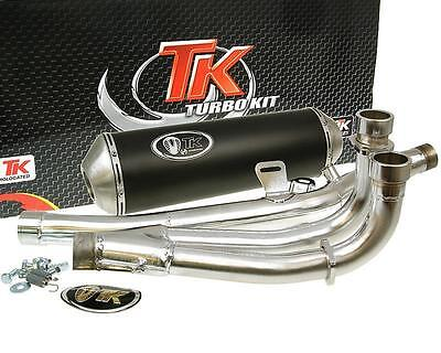 Exhaust Sport With E Characters Turbo Kit GMax 4T for Suzuki Burgman 650