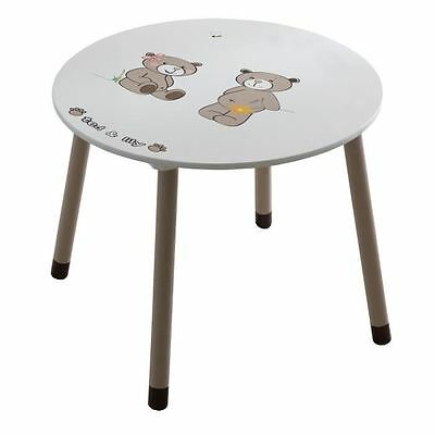 TED ET LILY Table ronde